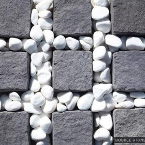 Custom Paving Cobble Stone 100x100x40mm Paver