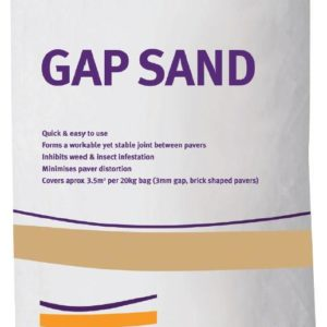CEMENT AUSTRALIA GAP SAND 20KG BAG