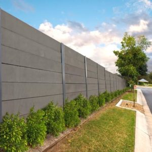 Aussie Concrete Smooth Charcoal 1530x200x75mm Sleeper Retaining Wall