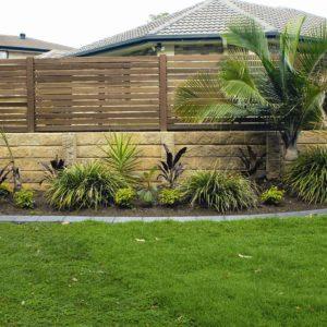 Aussie Concrete Sandstone Effect 1580x200x75mm Sleeper Retaining Wall