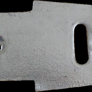 Aussie Concrete Galvanised Straight Fence Bracket 3mm