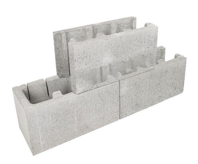 Adbri Masonry Versaloc Half Block End 200mm Series