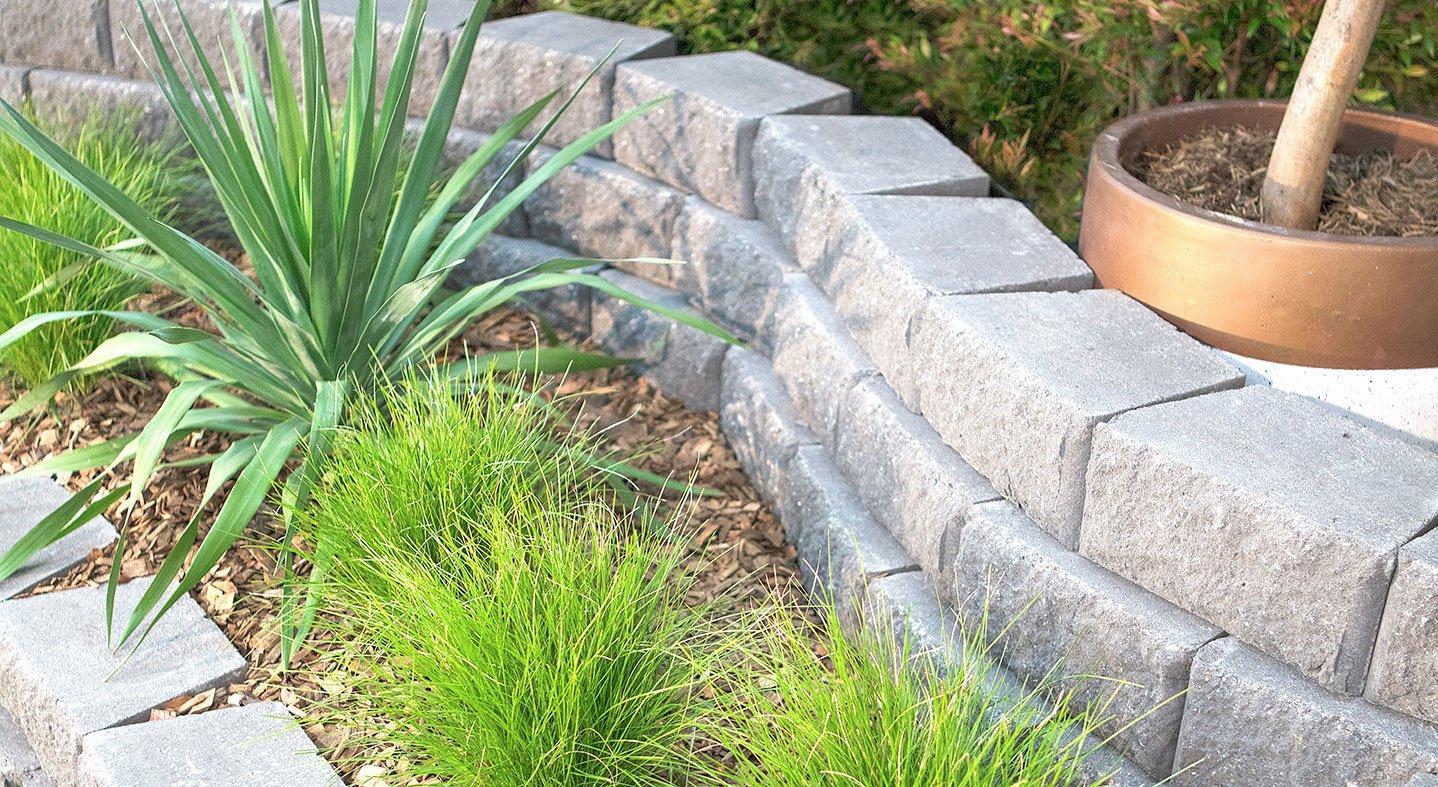 Adbri Masonry Windsor Stone 295x203x130mm Retaining Wall Block
