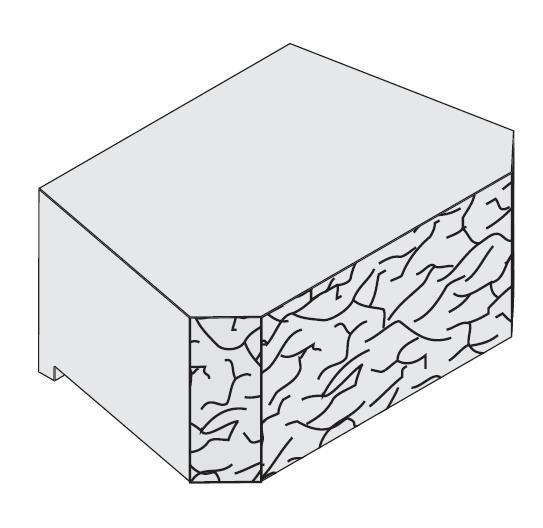 Adbri Masonry Windsor 295x203x130mm Retaining Wall Block
