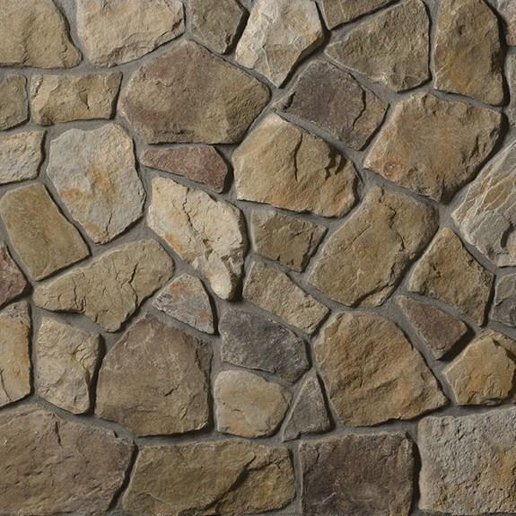 Cultured Stone Dressed Fieldstone Random Feature Wall