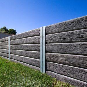Aussie Concrete Gumtree 2000x200x75mm Sleeper Retaining Wall